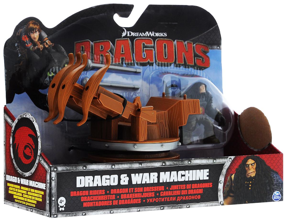 Dragons Игровой набор Drago & War Machine