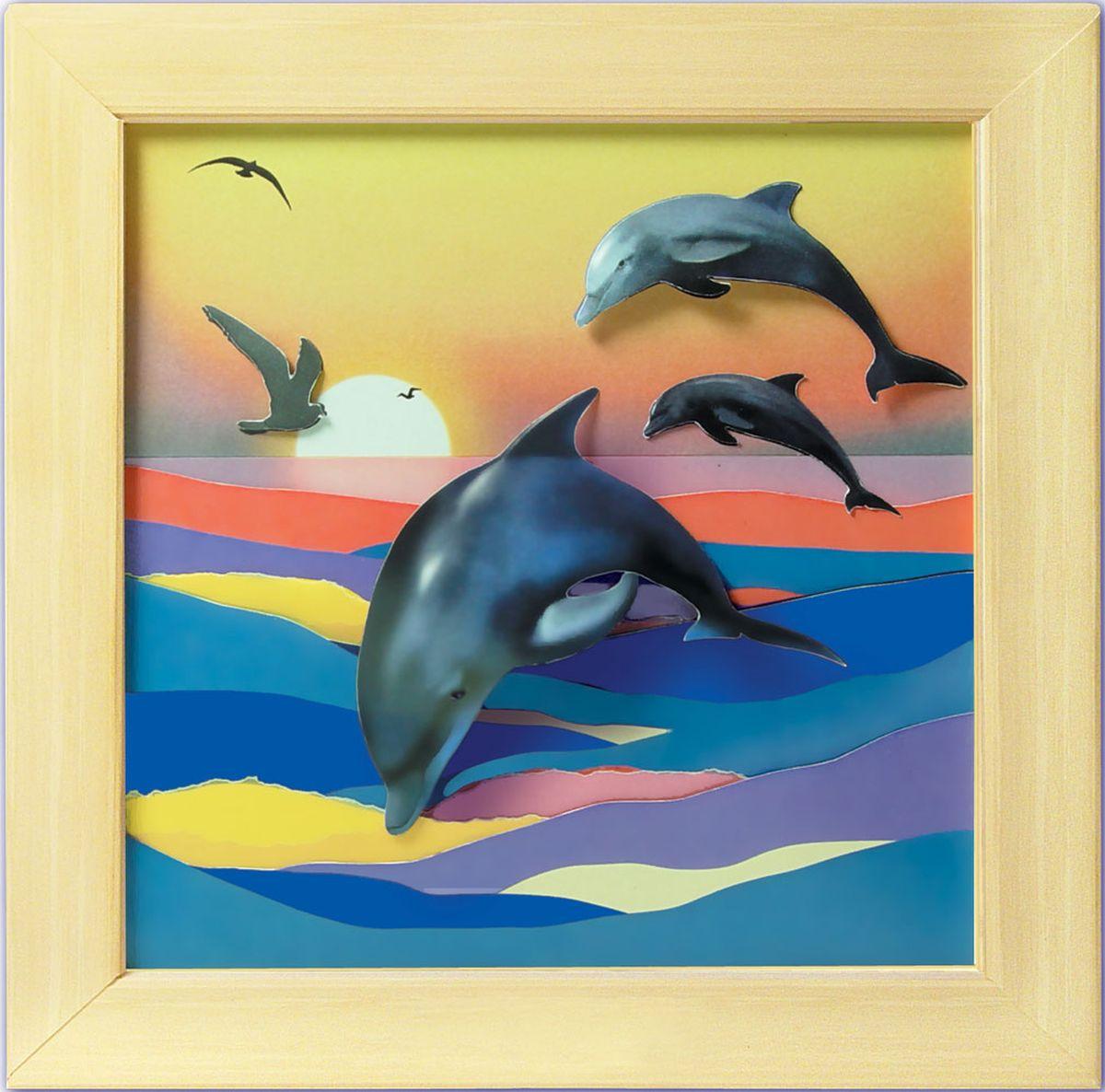 Открытка своими руками дельфин