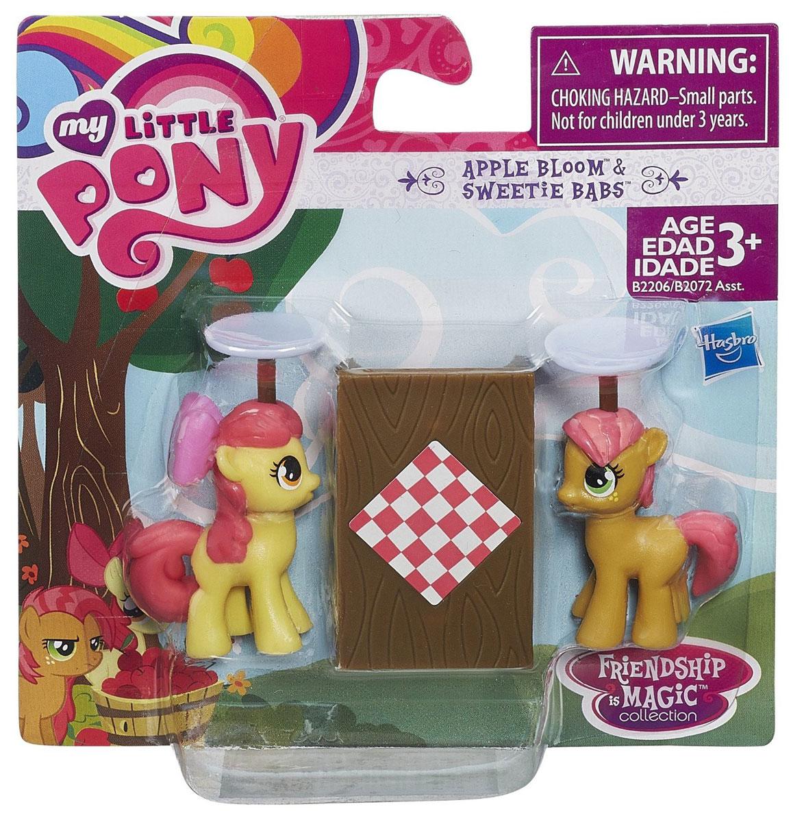 My Little Pony Игровой набор На ферме Эппл Блум и Конфетка Бабс
