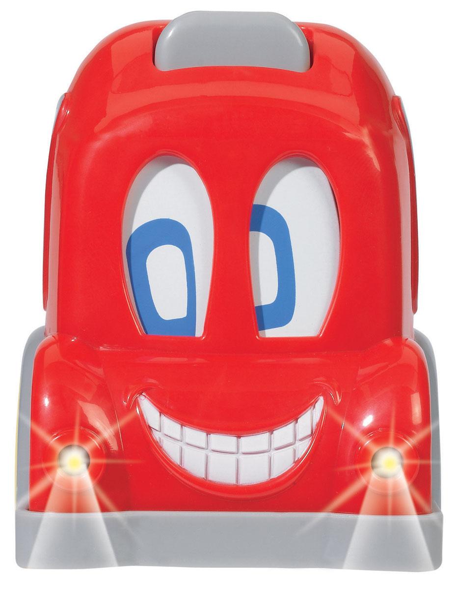 Simba Автобус с движущимися глазами цвет красный