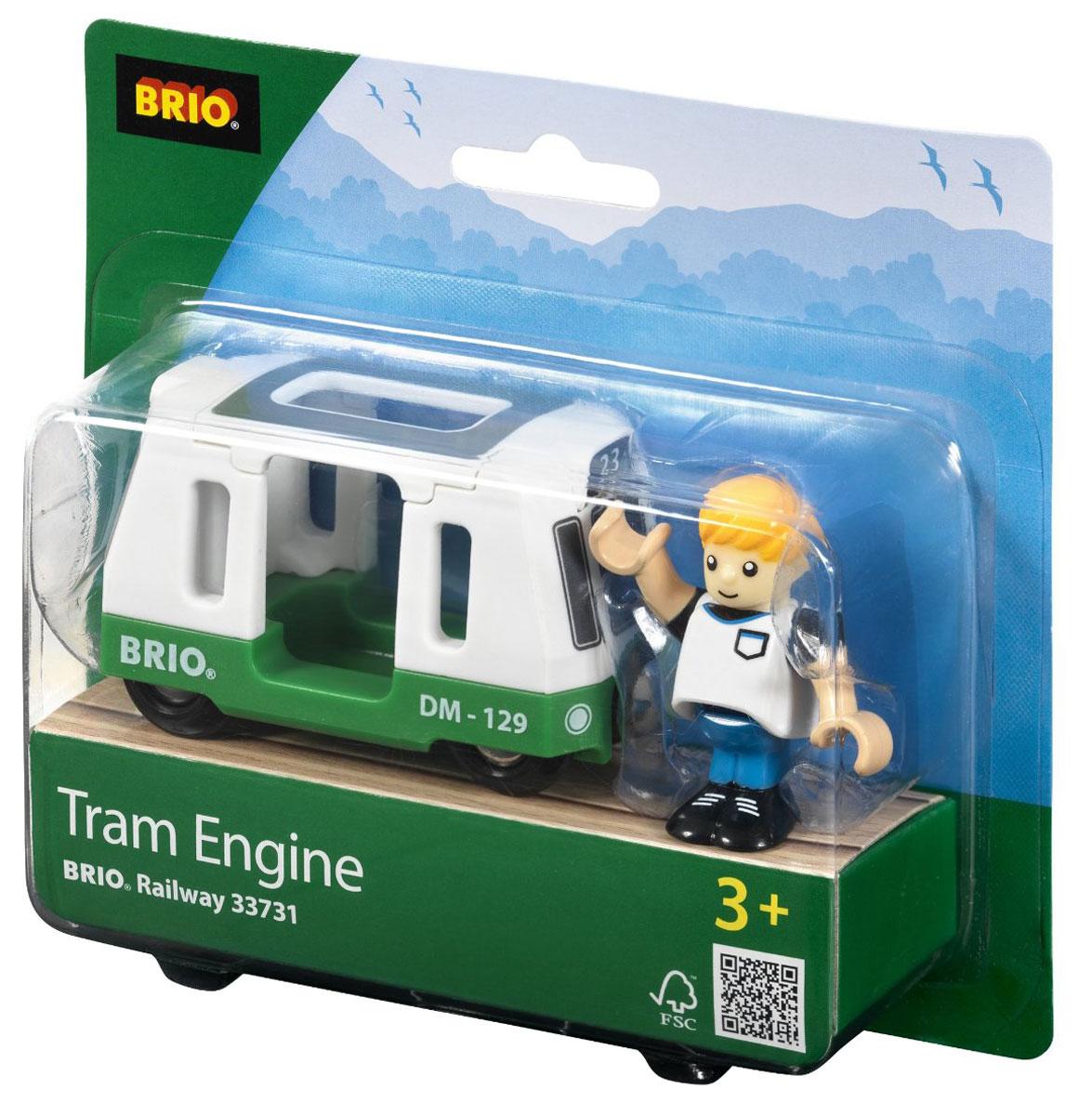 Brio Вагончик трамвая с фигуркой