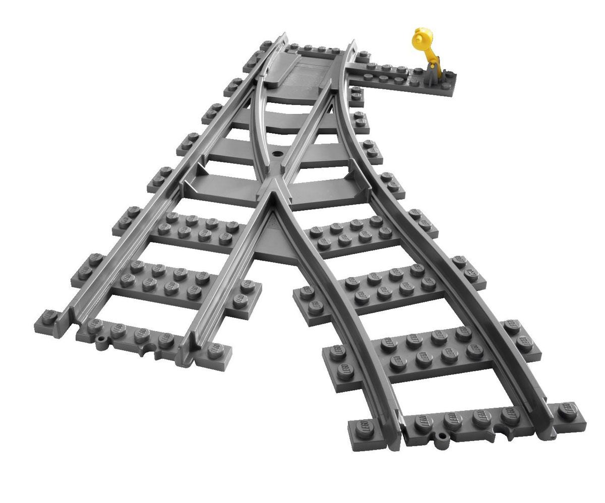 LEGO City Конструктор Железнодорожные стрелки