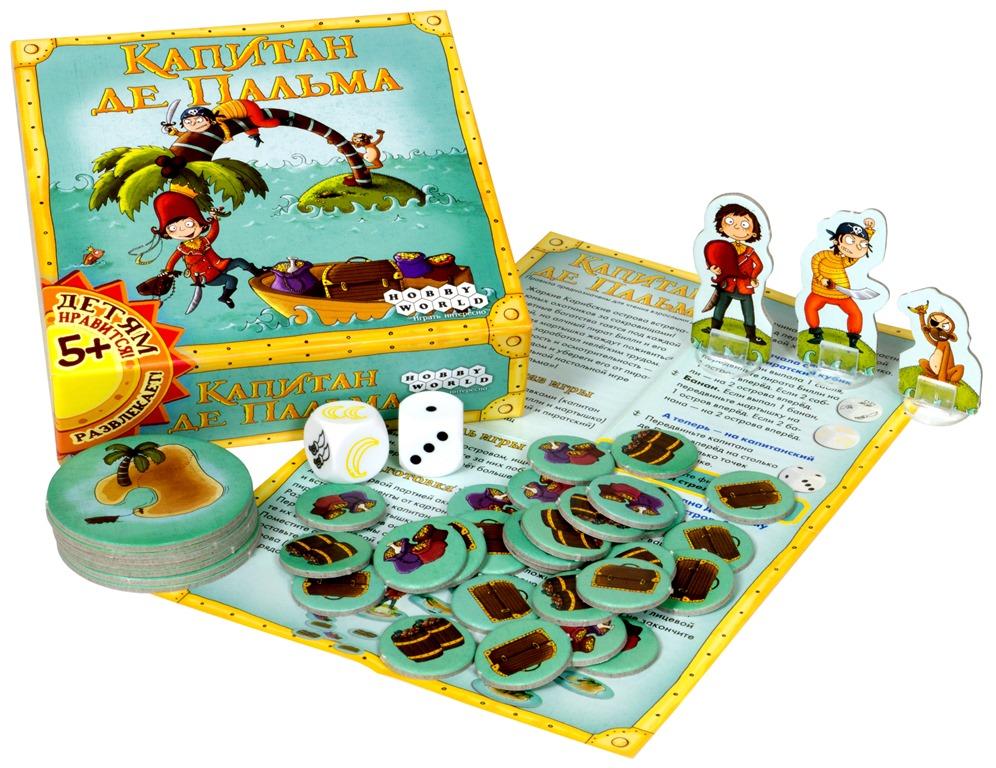 Hobby World Настольная игра Капитан де Пальма ( 1404 )