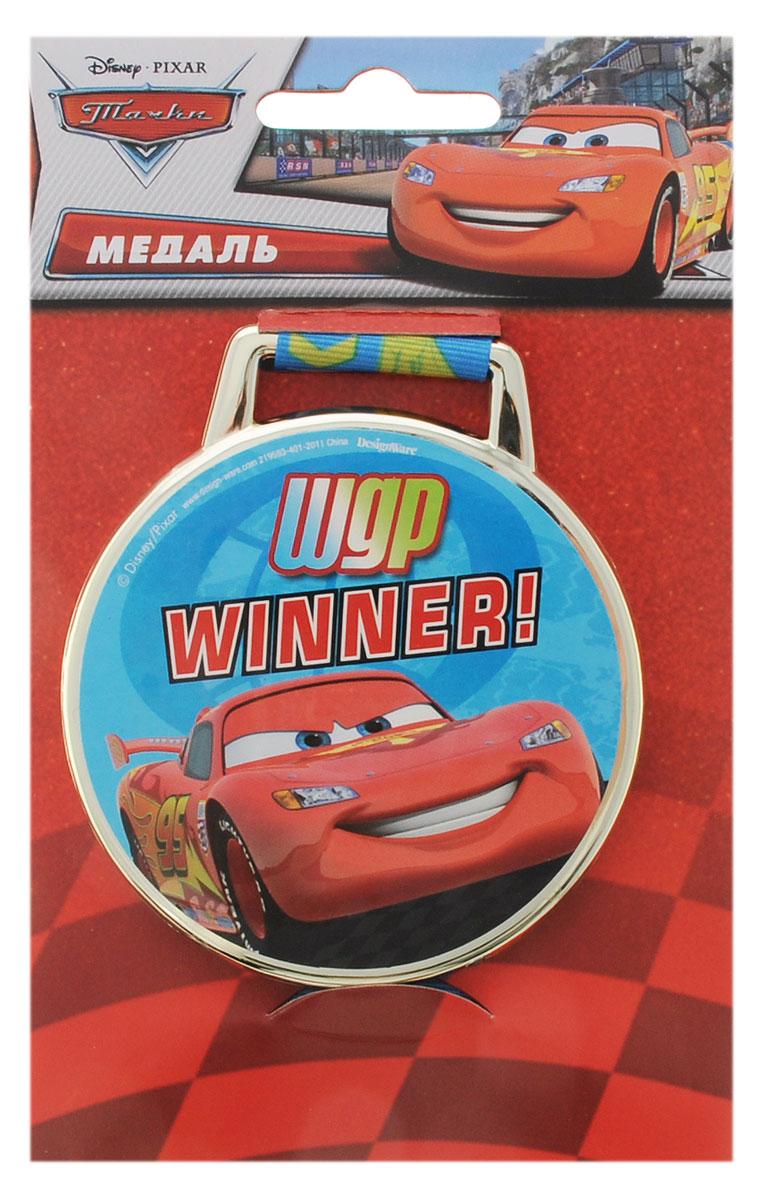 Веселая затея Медаль большая Disney Тачки