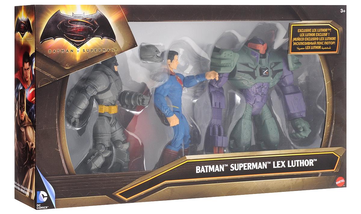 Boys Licensed Набор фигурок Бэтмен и Супермен против Лекса