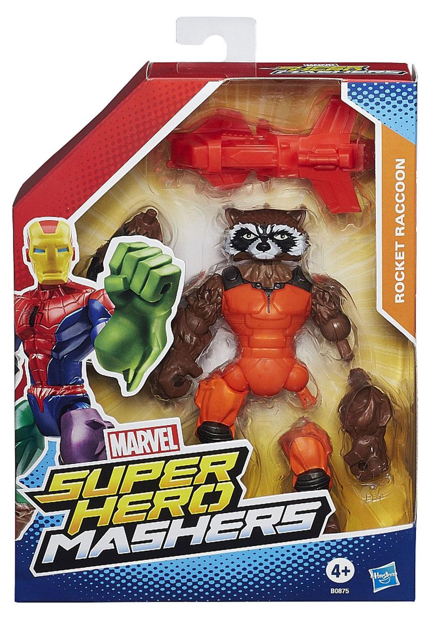 Hero Mashers Разборная фигурка Rocket Raccoon