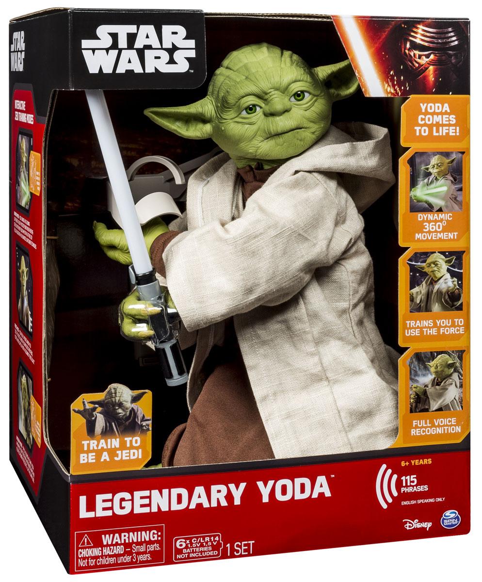 Star Wars Интерактивная игрушка Spinmaster Yoda