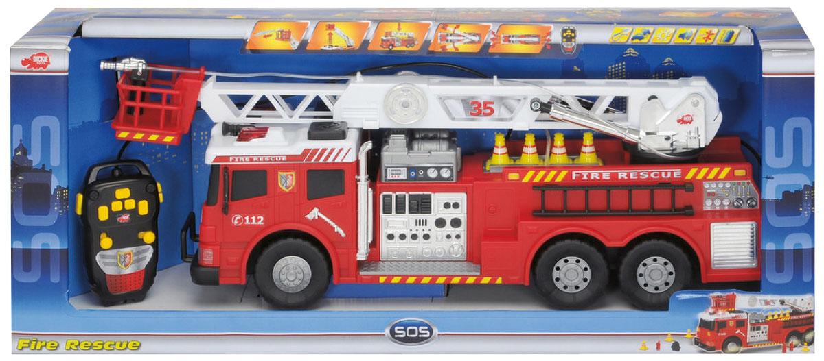 Dickie Toys Пожарная машина на радиоуправлении