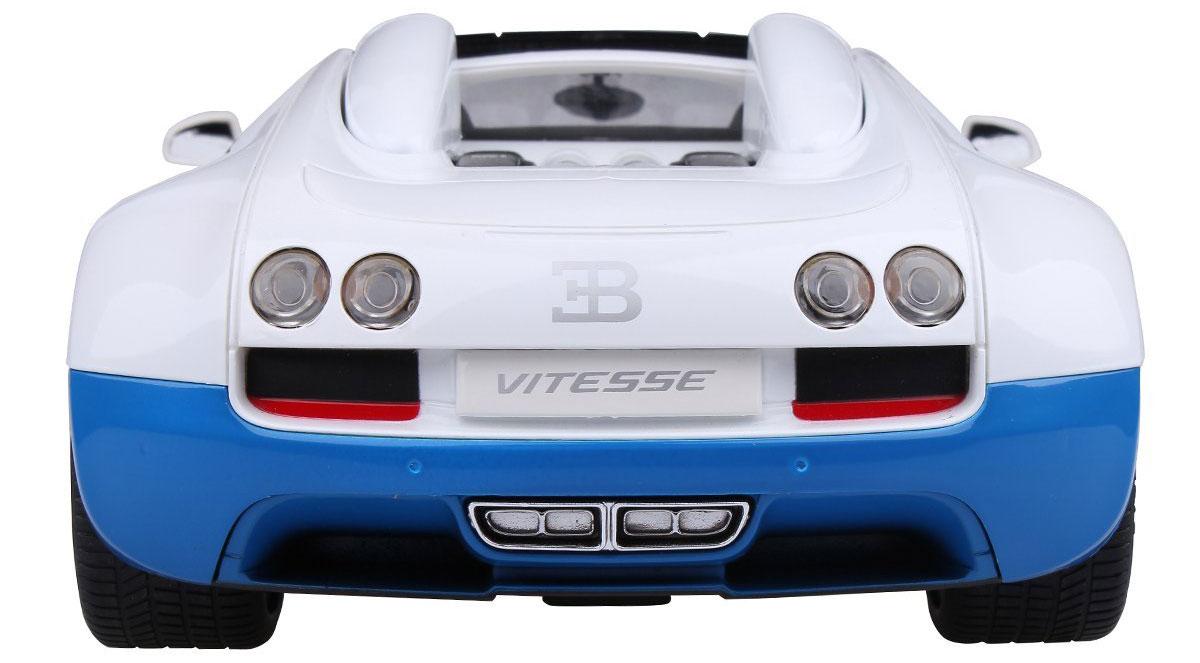 Rastar Радиоуправляемая модель Bugatti Veyron 16.4 Grand Sport Vitesse цвет белый голубой