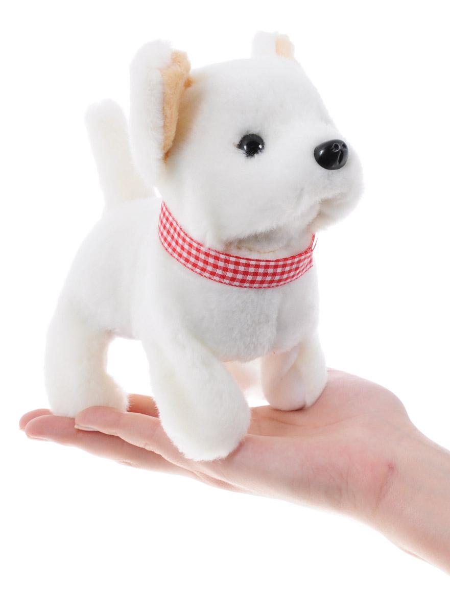 Sonata Style Мягкая игрушка Собачка цвет белый 16 см