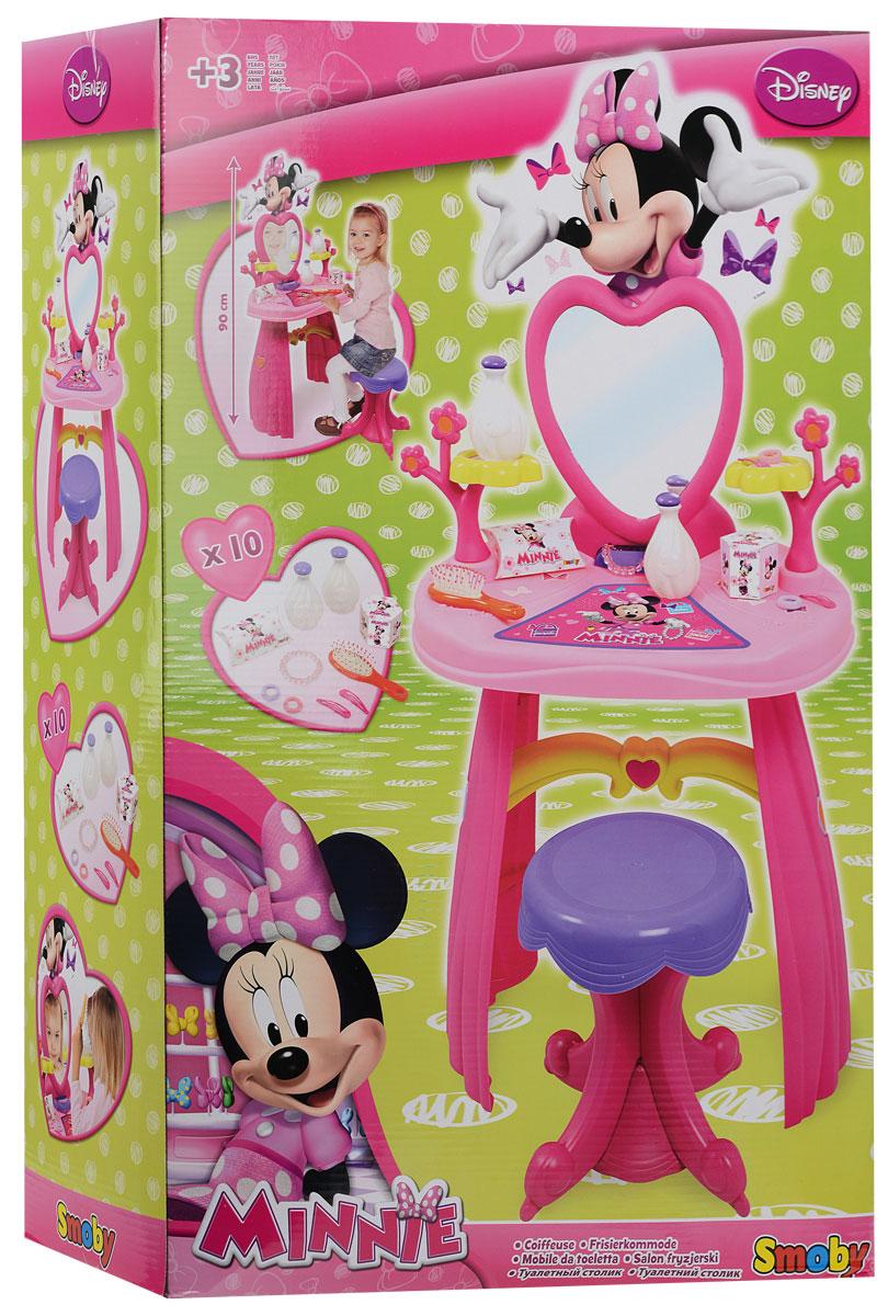 Smoby Игровой набор Minnie Туалетный столик, 12 предметов