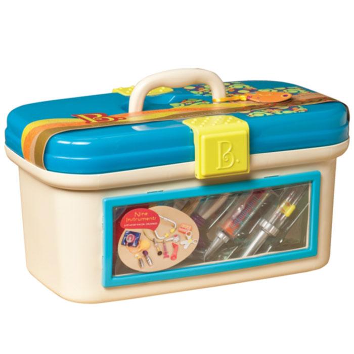 Battat Игровой набор Dr. Doctor, цвет: синий, 9 предметов