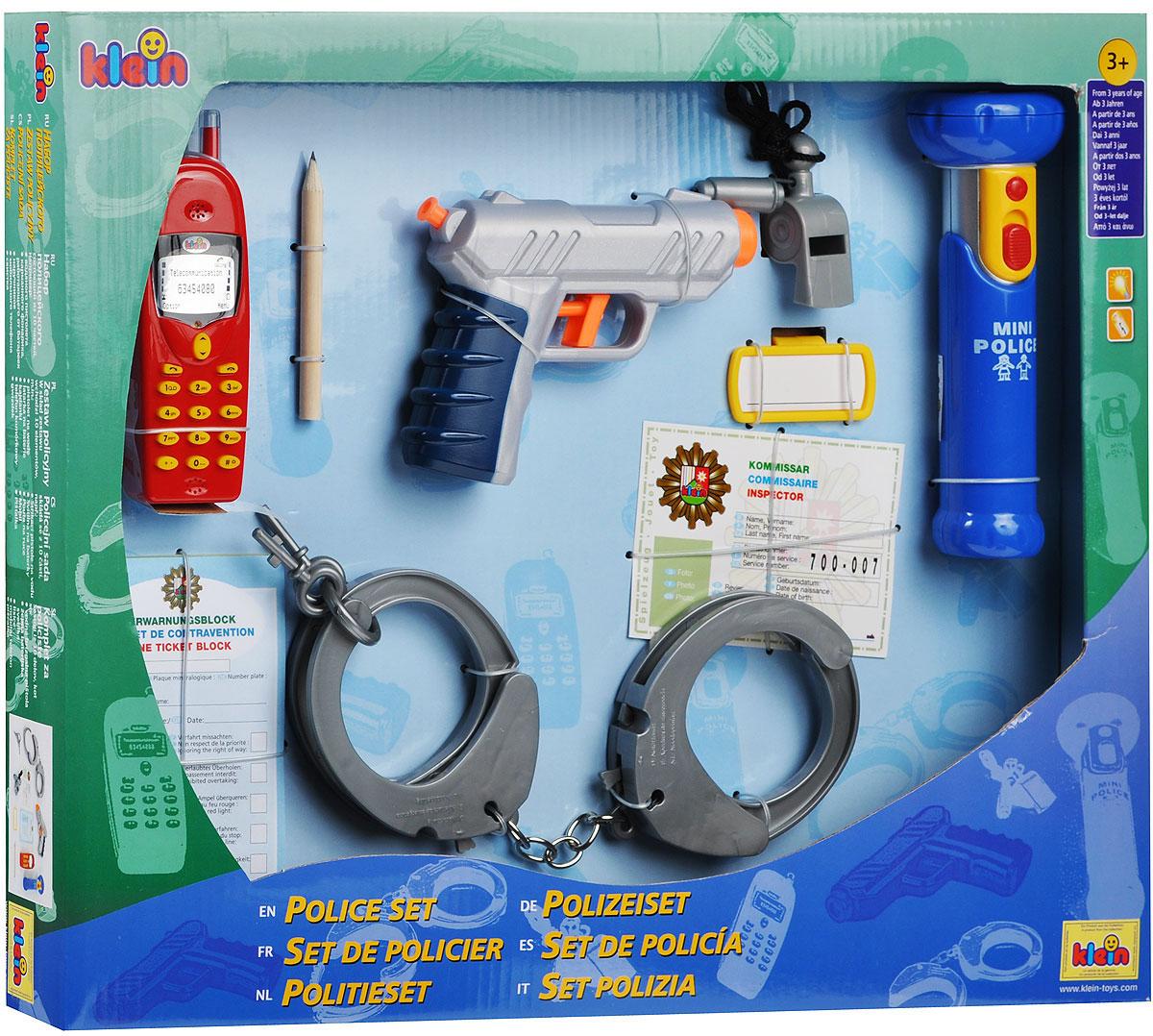 Klein Игровой набор Полицейский 10 предметов