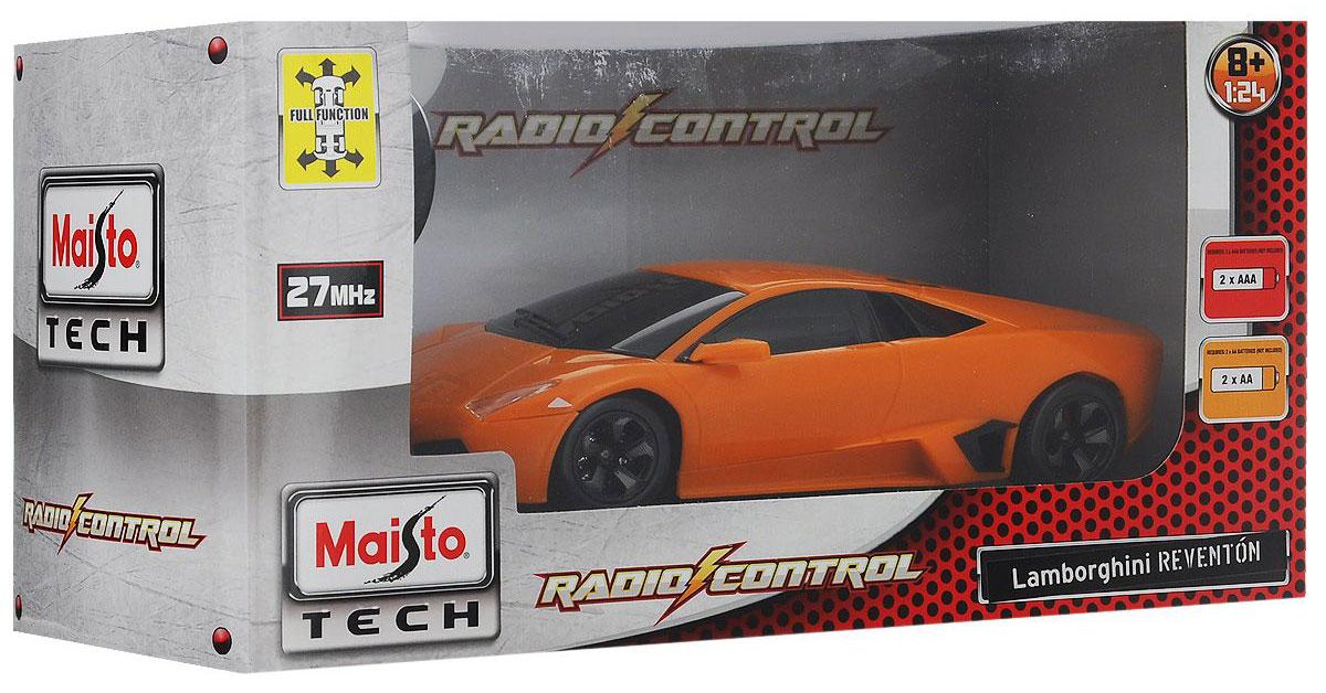 Maisto Радиоуправляемая модель Lamborghini Reventon цвет оранжевый