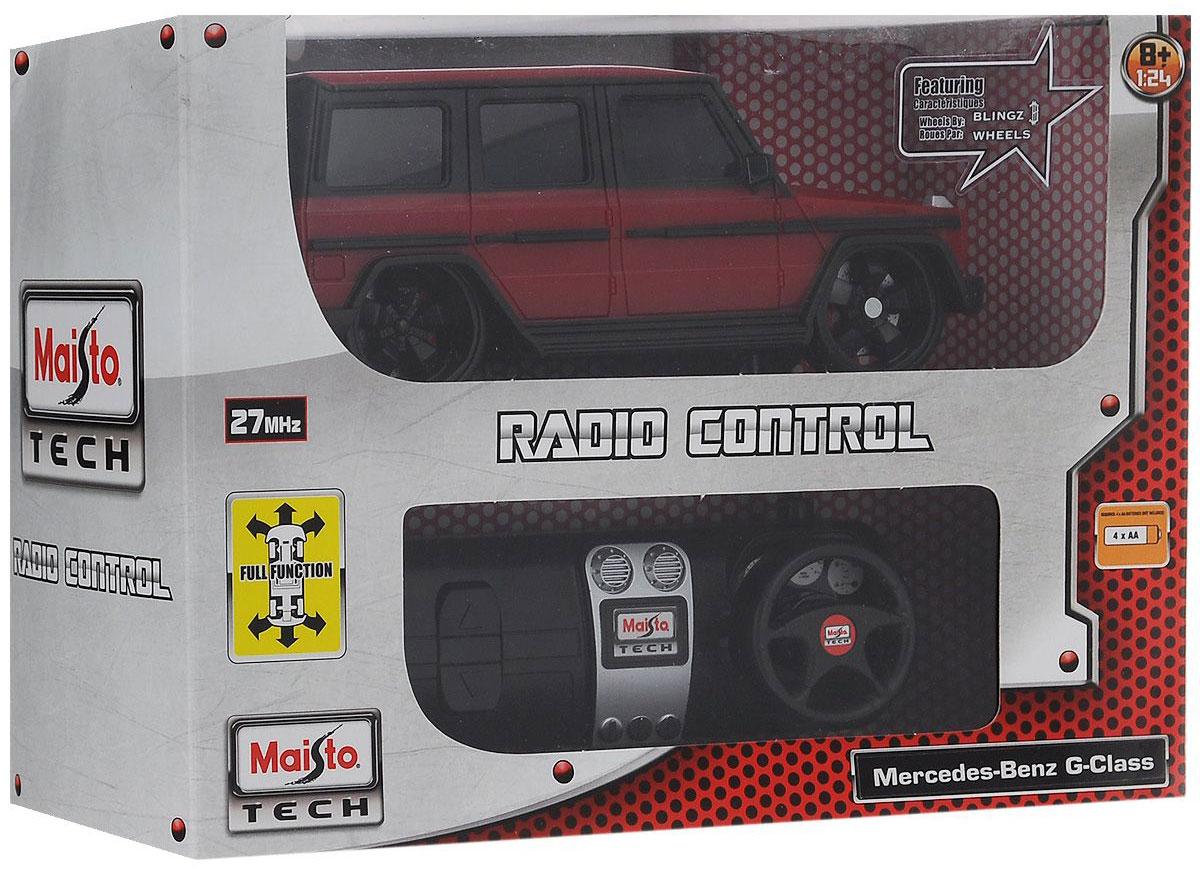 Maisto Радиоуправляемая модель Mercedes-Benz G-Class цвет красный