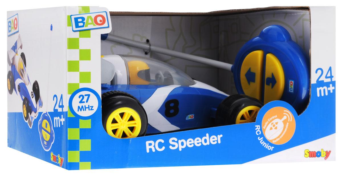 Smoby Машина на радиоуправлении RC Speeder цвет синий белый