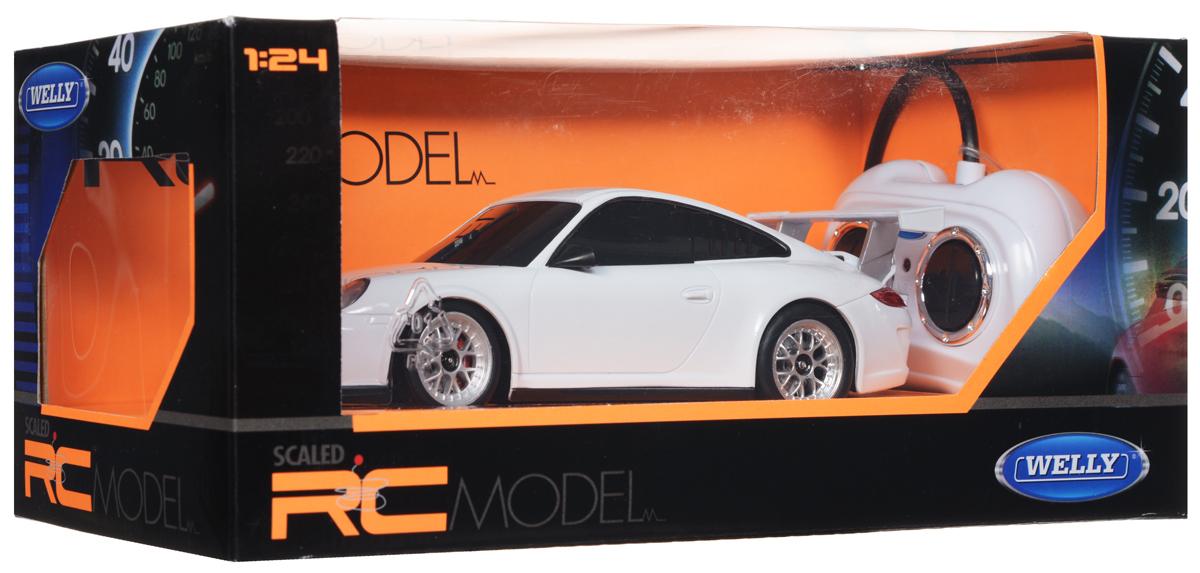 Welly Радиоуправляемая модель Porsche 911 GT3 Cup