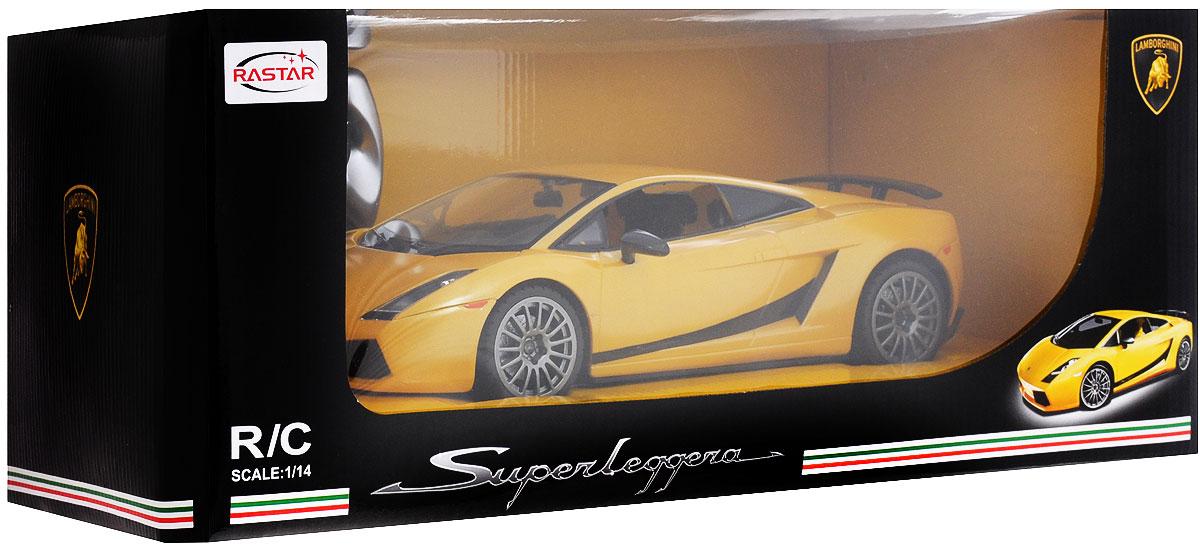 Rastar Радиоуправляемая модель Lamborghini Superleggera цвет желтый масштаб 1:14