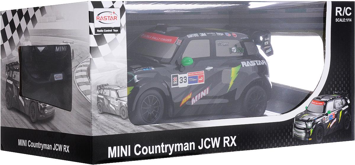 Rastar Радиоуправляемая модель Mini Countryman JCW RX масштаб 1:14