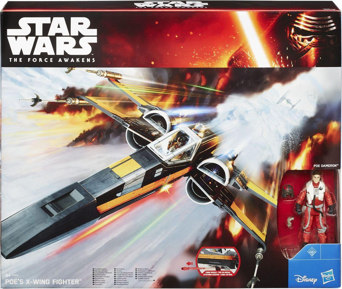 Star Wars Космический корабль Poe`s X-Wing Fighter