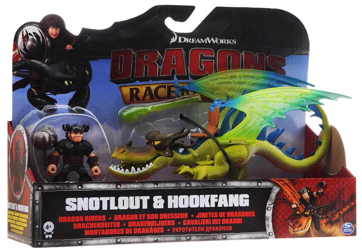 Dragons Игровой набор Snotlout & Hookfang цвет дракона салатовый