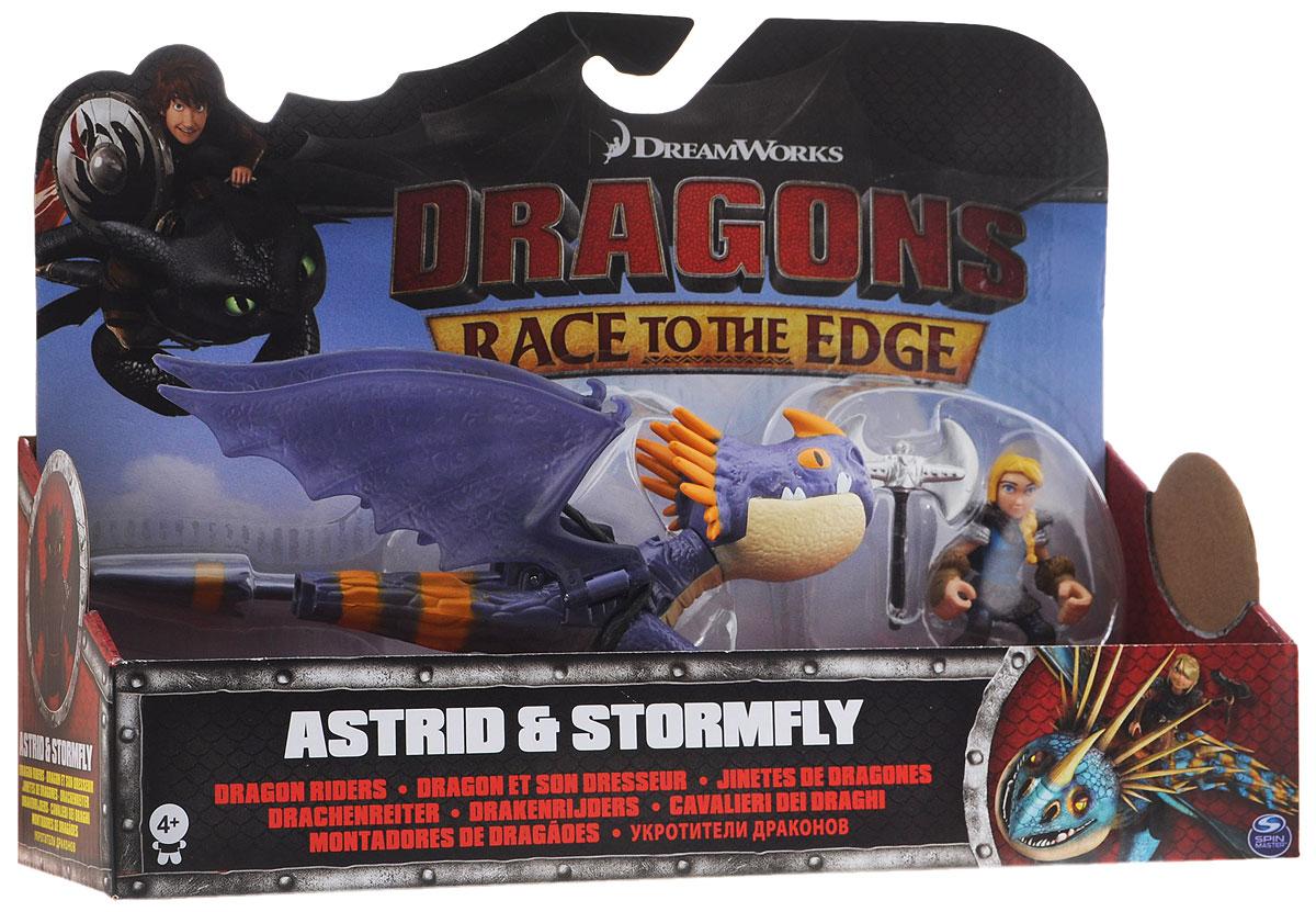 Dragons Игровой набор Astrid & Stormfly цвет дракона фиолетовый