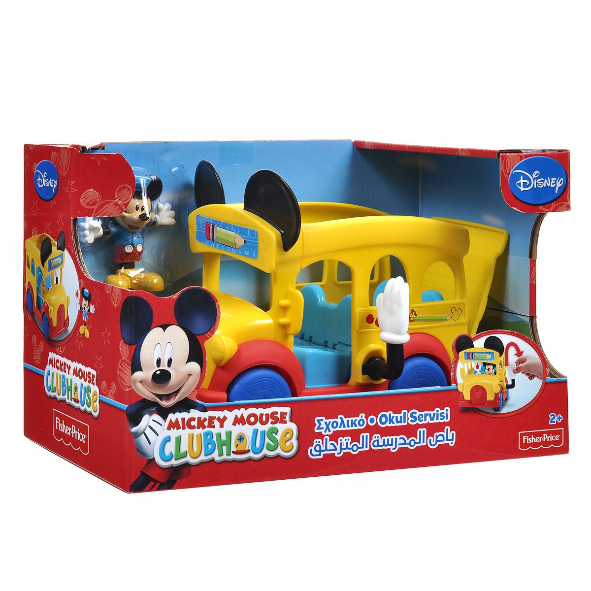 """Игровой набор Mickey Mouse """"Школьный автобус"""""""