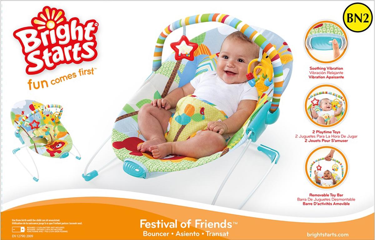 Bright Starts Кресло-качалка Фестиваль друзей
