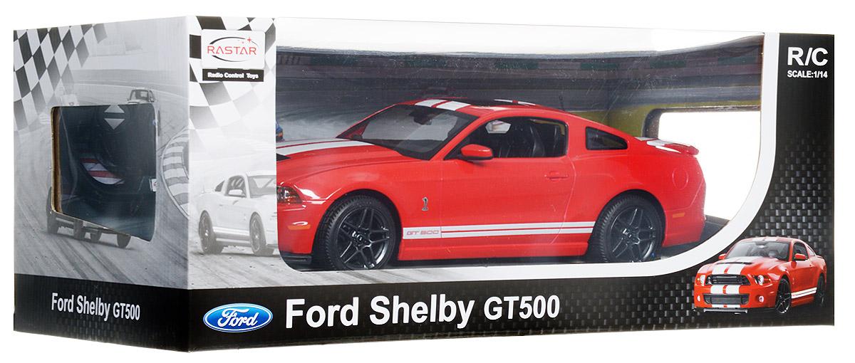 Rastar Радиоуправляемая модель Ford Shelby GT500 цвет красный