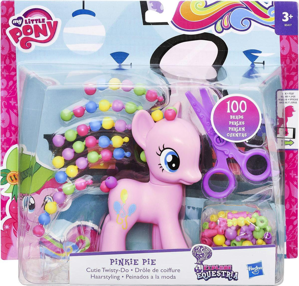 My Little Pony Фигурка Pinkie Pie с разными прическами