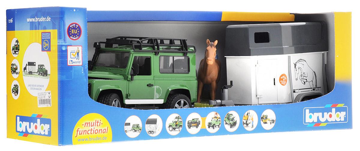 Bruder Игровой набор Land Rover Defender Station Wagon