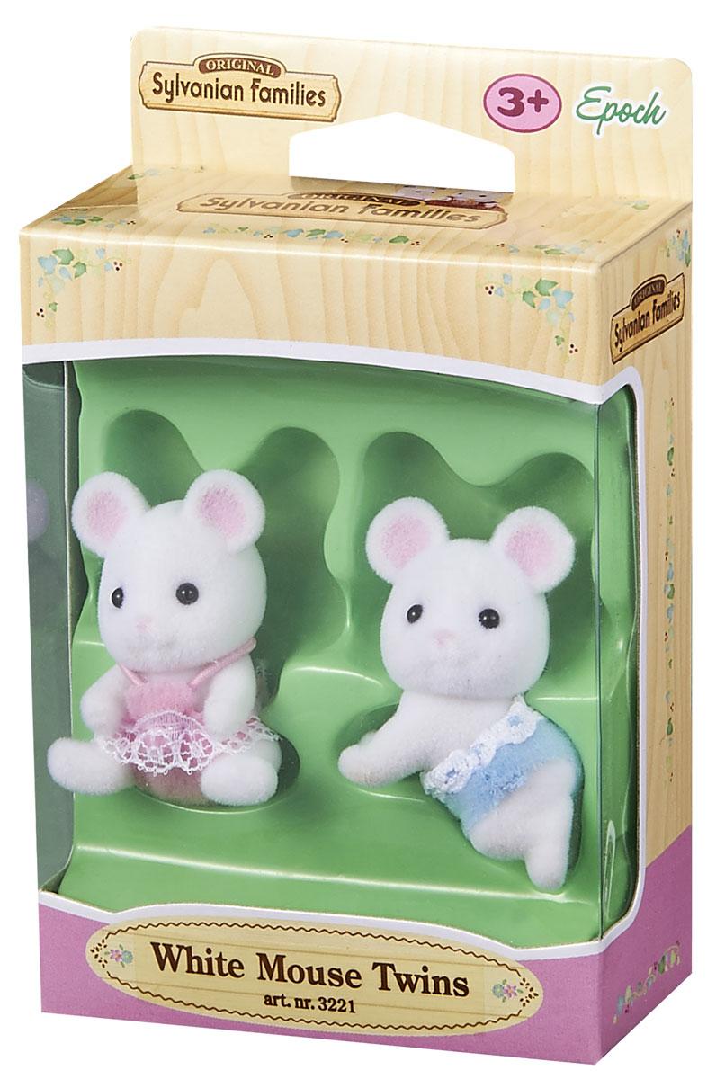 Sylvanian Families Набор фигурок Белые Мышата-двойняшки