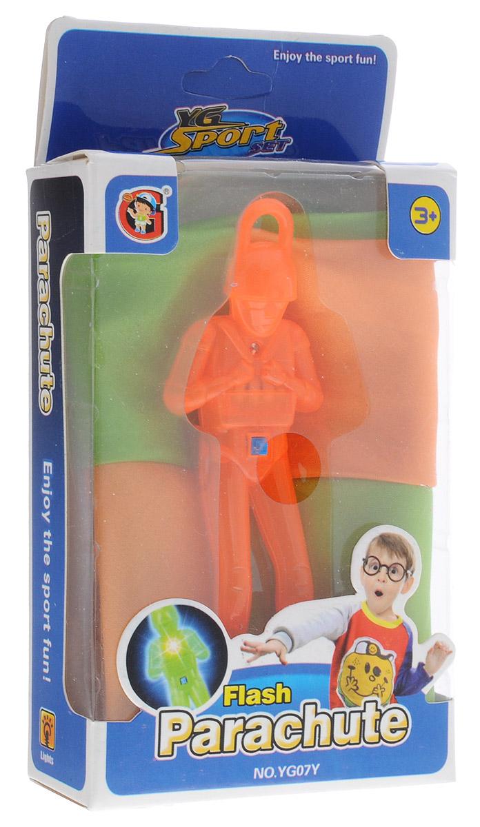 YG Sport Игра Светящийся парашютист цвет оранжевый