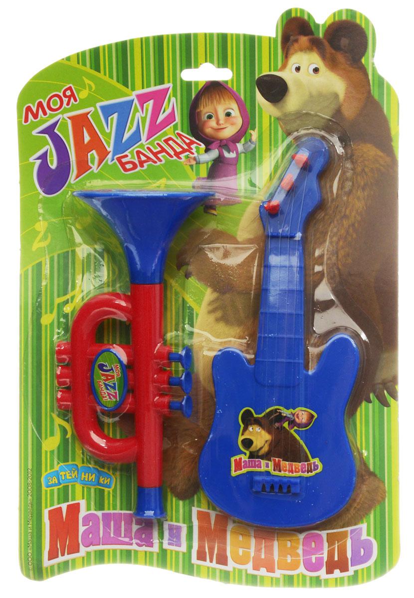 Маша и Медведь Игровой набор Моя Jazz банда