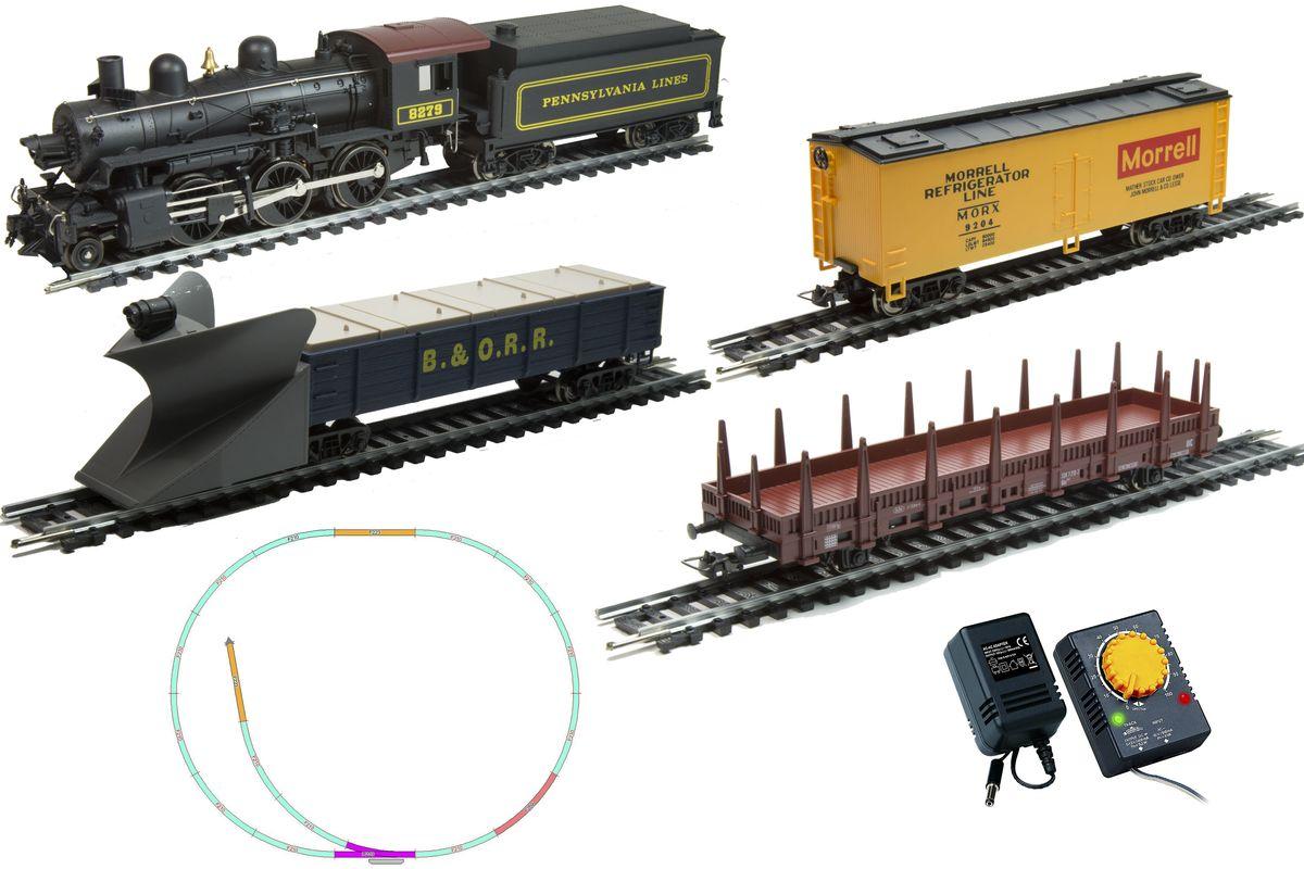 Mehano Железная дорога Hobby Mogul с паровозом Pennsylvania Lines 8279