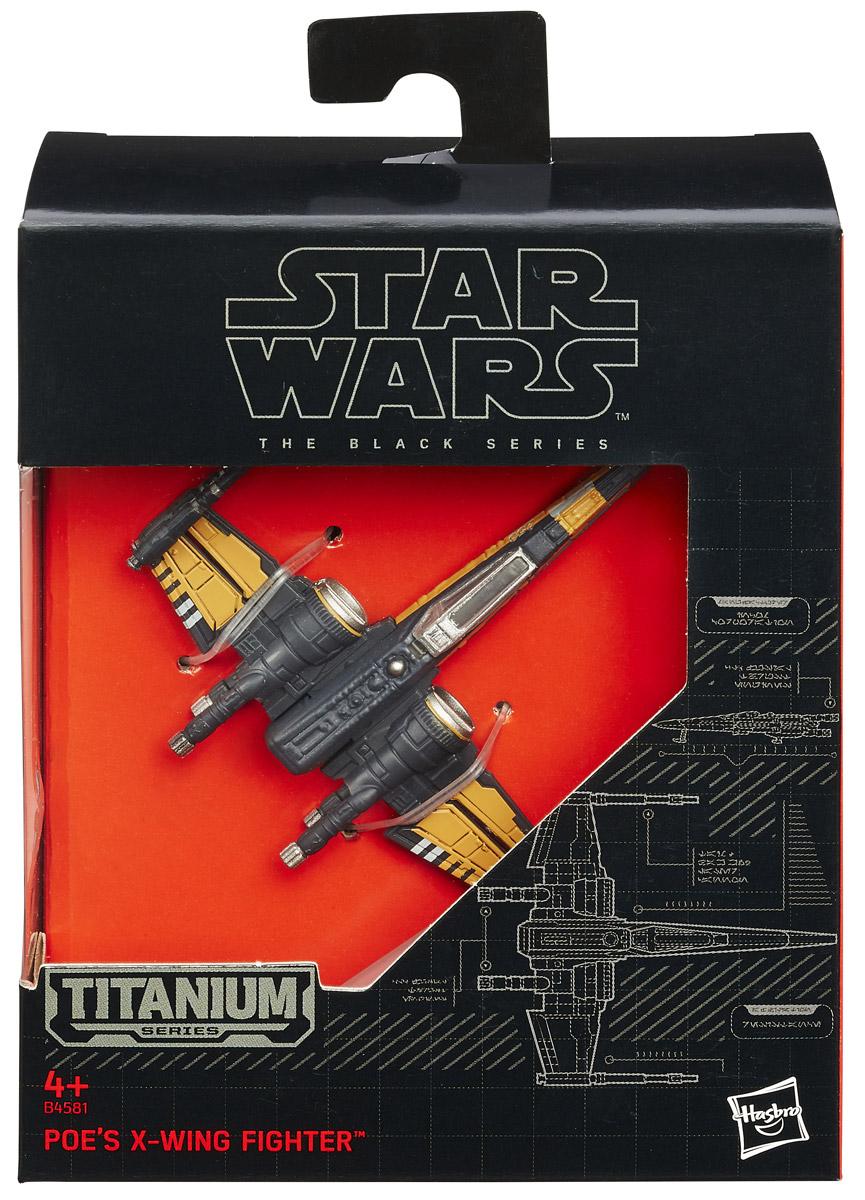 Star Wars Космический корабль The Black Series Poe`s X-Wing Fighter