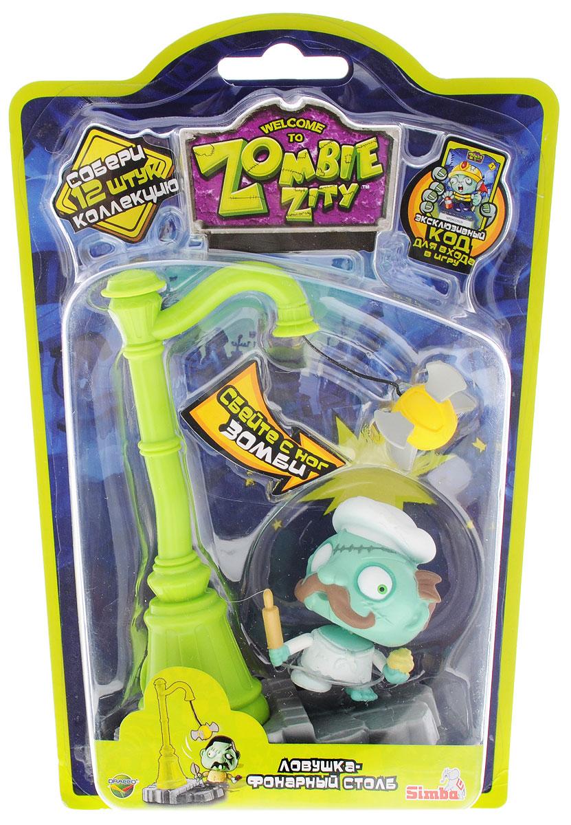 Zombie Zity Игровой набор Ловушка для зомби Рики Тартс и Фонарный столб