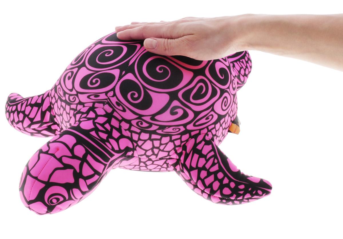 Maxi Toys Мягкая игрушка-антистресс Черепашка Геля цвет розовый 43 см
