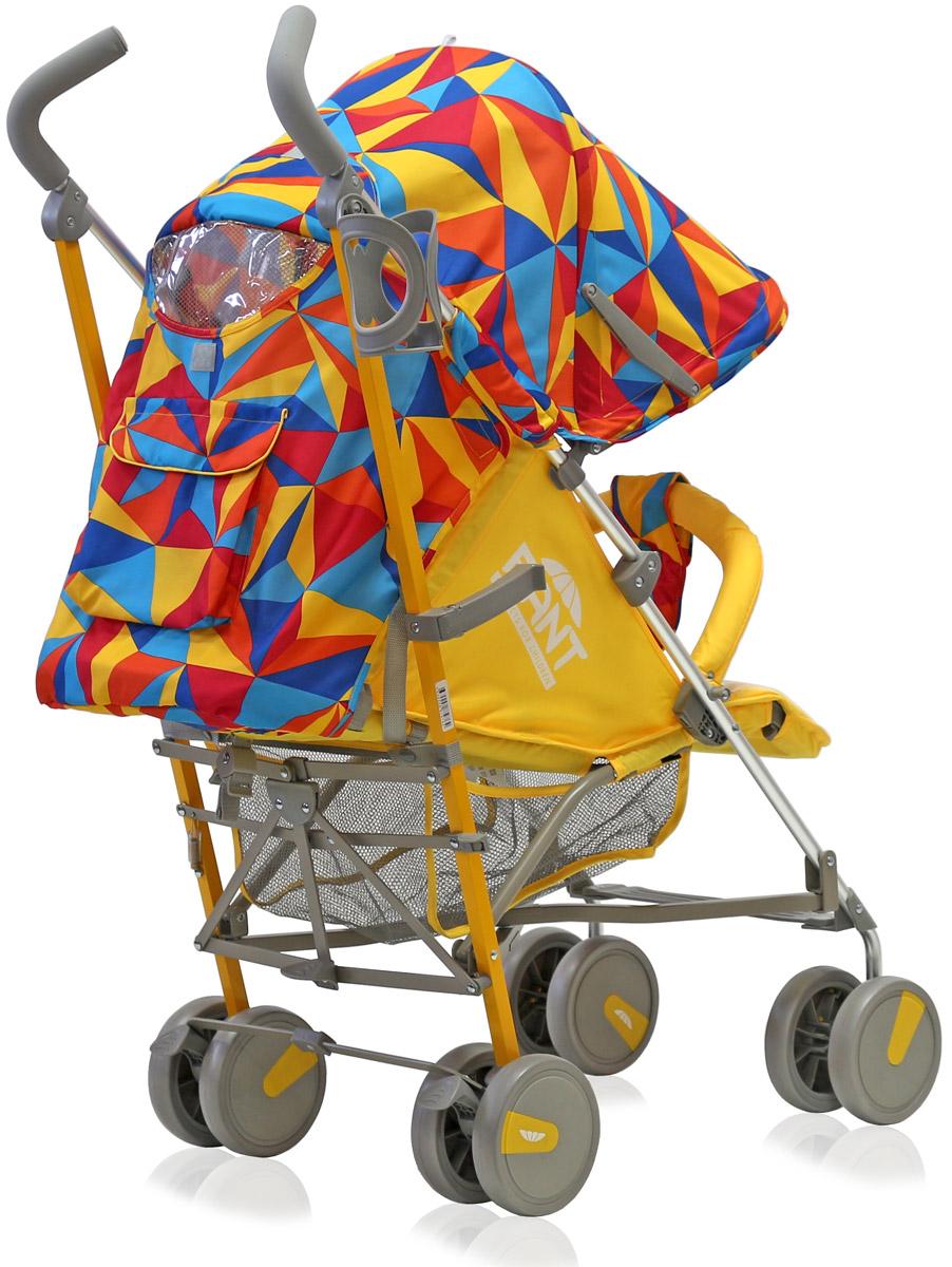 Rant Коляска прогулочная Molly Alu цвет желтый