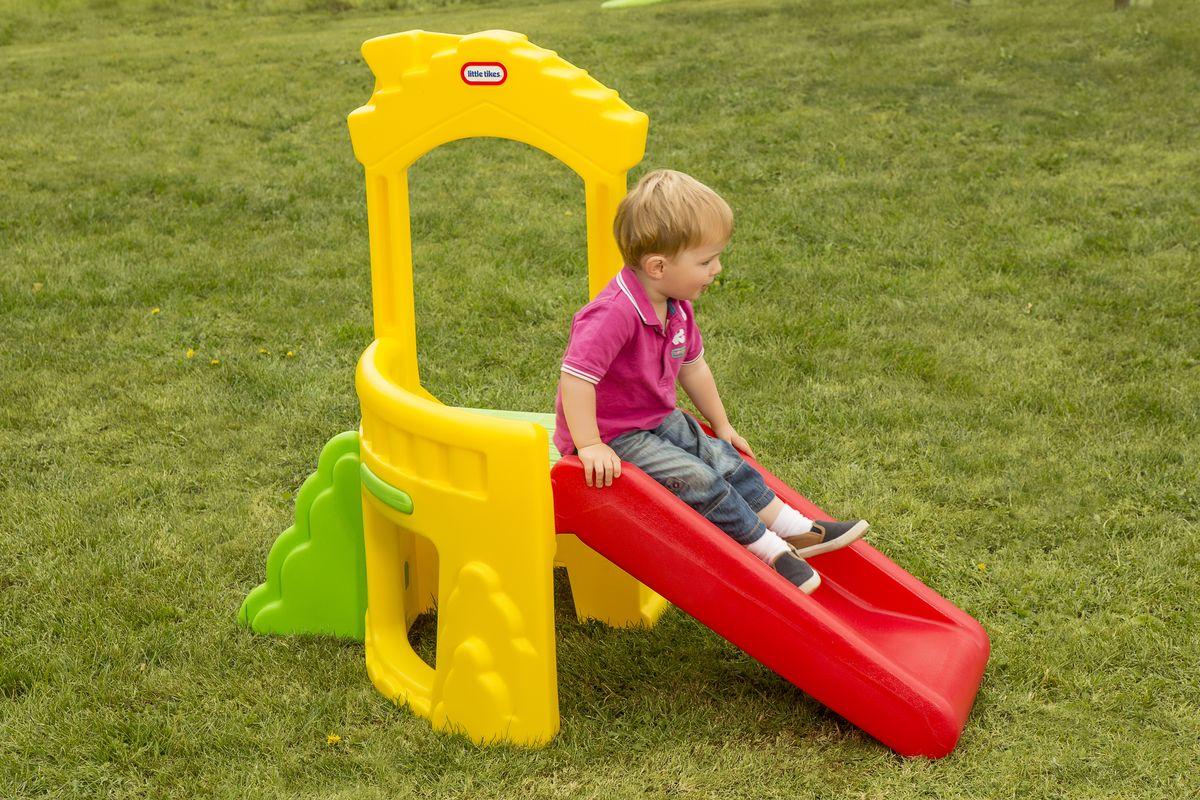 Little Tikes Игровой комплекс Climb & Slide Playhouse