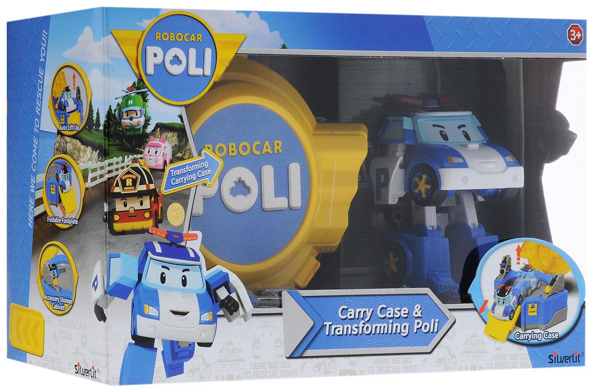 Robocar Poli Игровой набор Кейс с трансформером Поли
