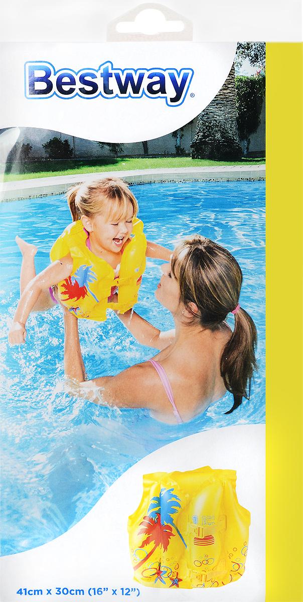 Bestway Детский надувной жилет Тропический от 3 до 6 лет