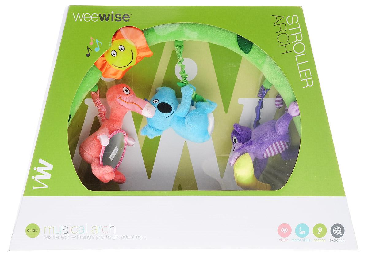WeeWise Развивающая музыкальная дуга Джунгли