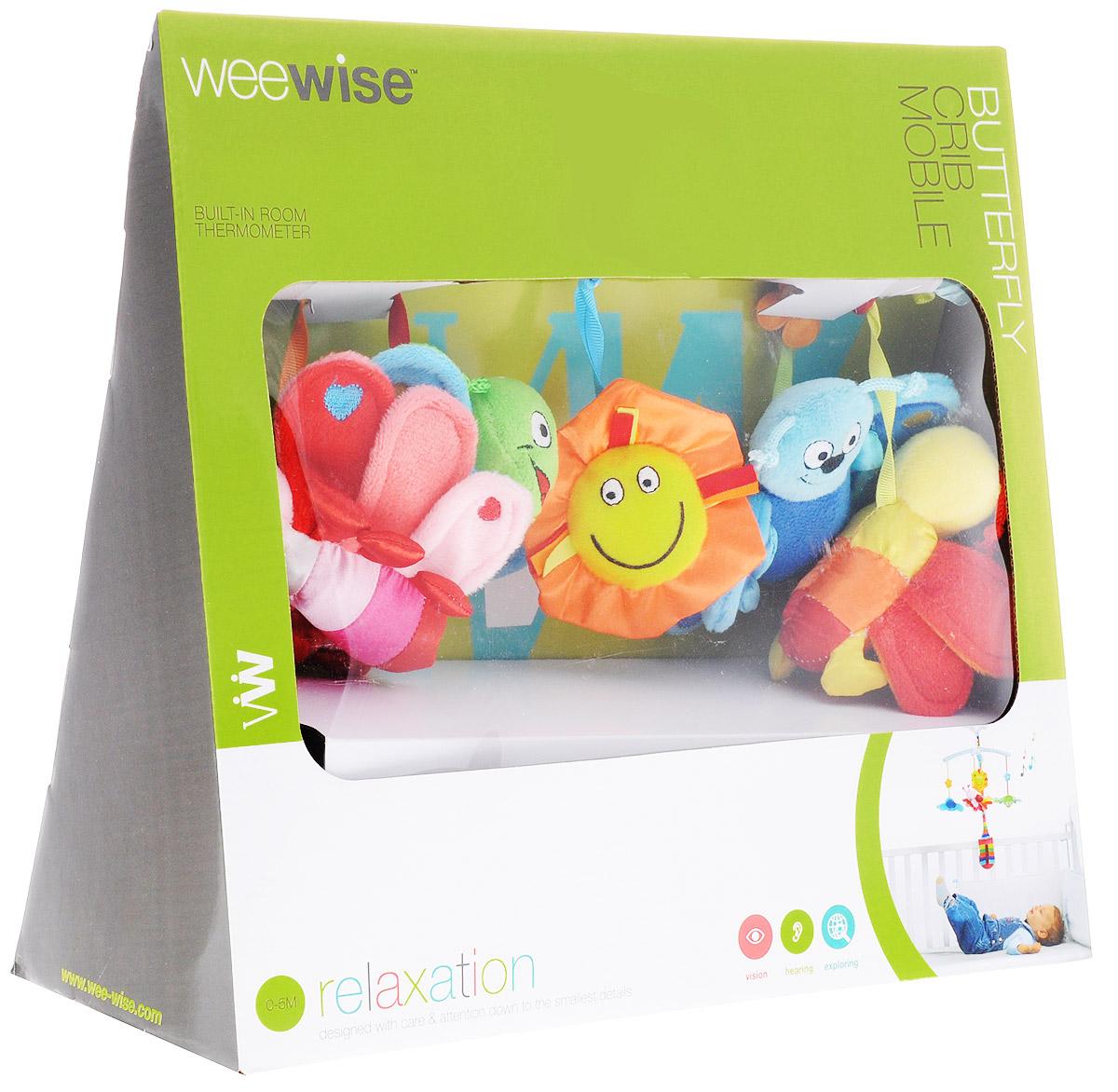 WeeWise Музыкальный мобиль Бабочки