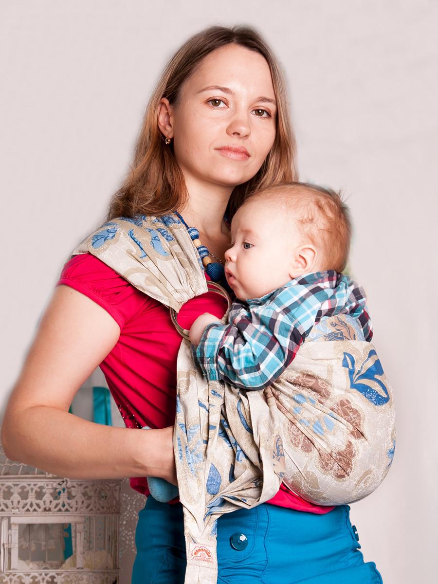 Слинг для новорожденных своими руками 19