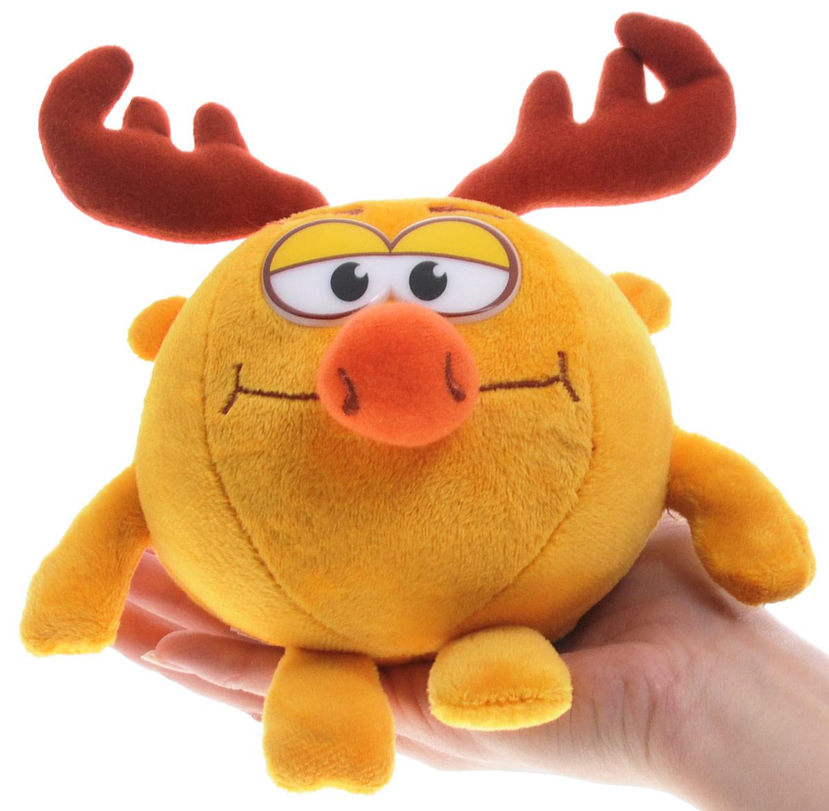 Мульти-Пульти Мягкая озвученная игрушка Смешарики Лосяш 10 см