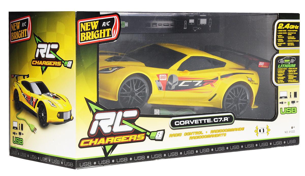 New Bright Радиоуправляемая модель Corvette C7.R