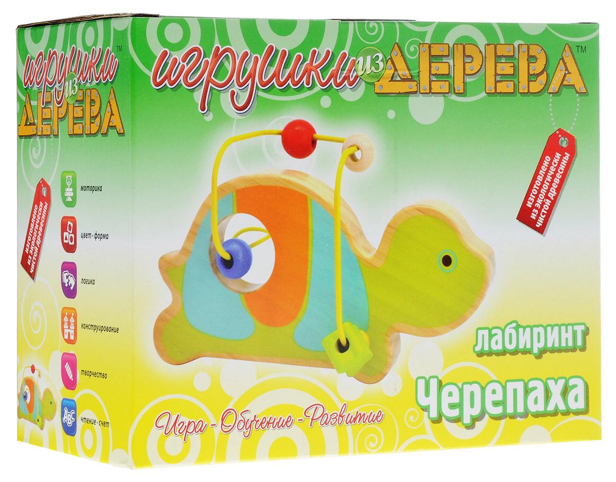 Мир деревянных игрушек Лабиринт Черепаха