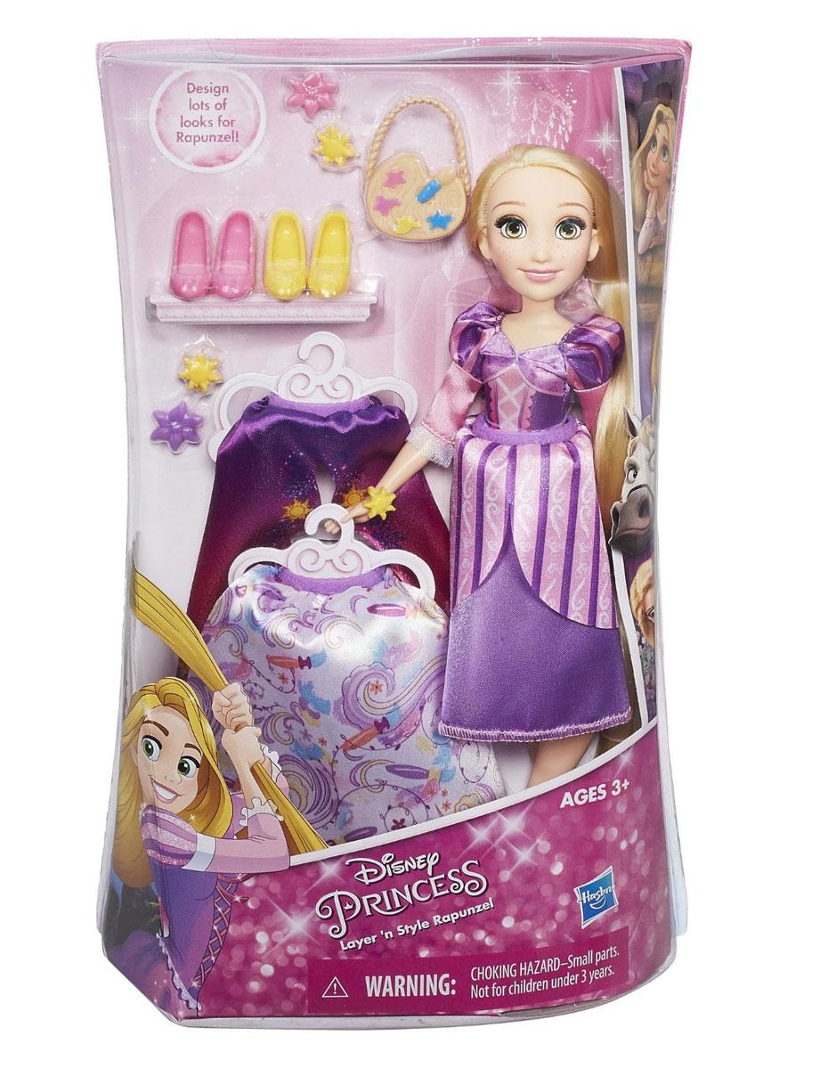 Disney Princess Кукла Рапунцель в платье со сменными юбками