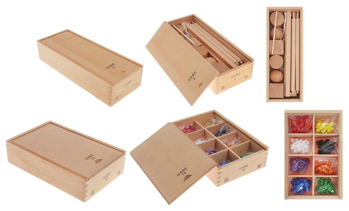 Мир деревянных игрушек Обучающая игра Дары Фребеля